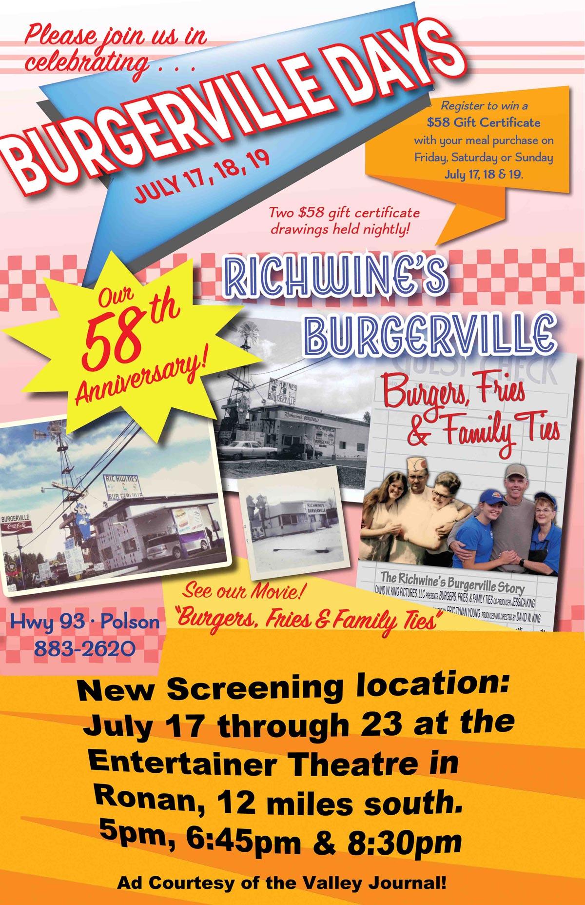 Burgerville Days